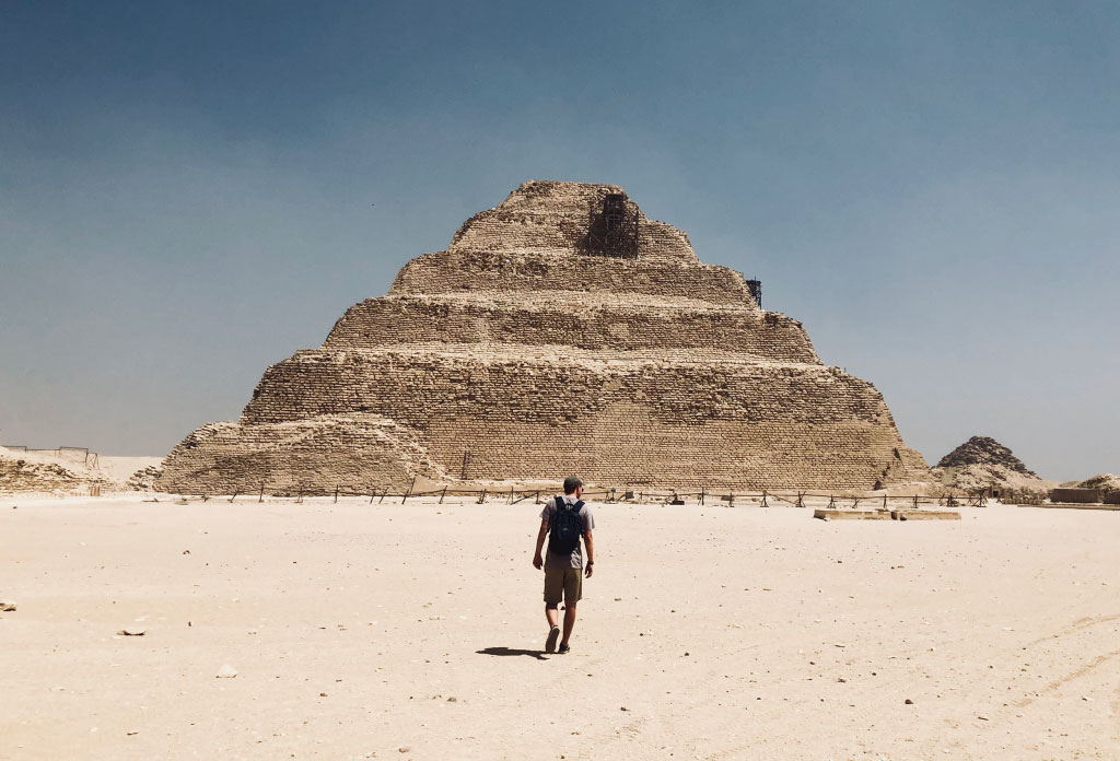The Great Pyramid of Giza cam snaps - The Great Pyramid of Giza, the gateway to ancient Egypt