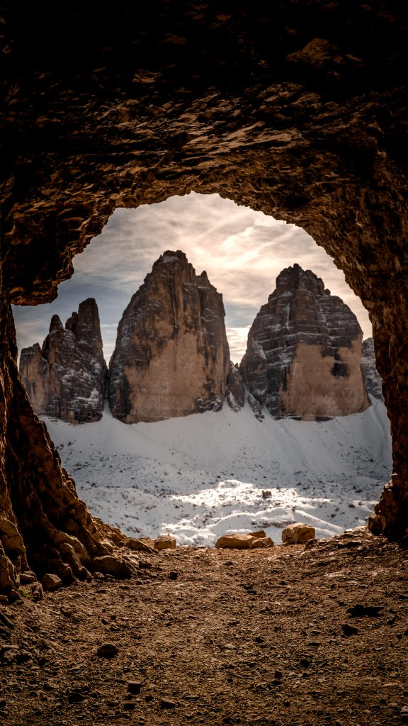 Tre Cime di Lavaredo cave - Dolomites Itinerary: the 5 most stunning hikes to discover in 2021