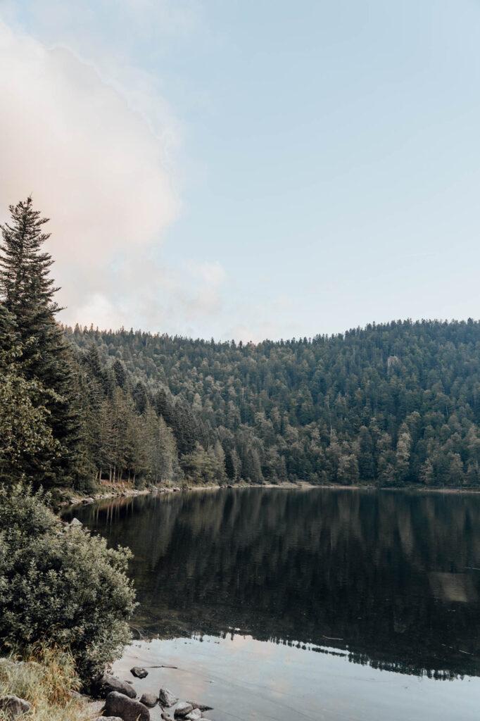 2021 09 04 VOSGES Snelle Edit HUD5228 - Lac des Corbeaux, the The Black Eye of the Vosges