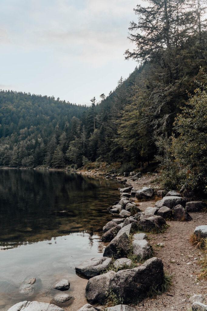 2021 09 04 VOSGES Snelle Edit HUD5250 - Lac des Corbeaux, the The Black Eye of the Vosges