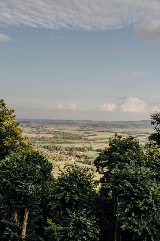 Haut Barr Castle view - Haut-Barr Castle, The Eye of the Alsace